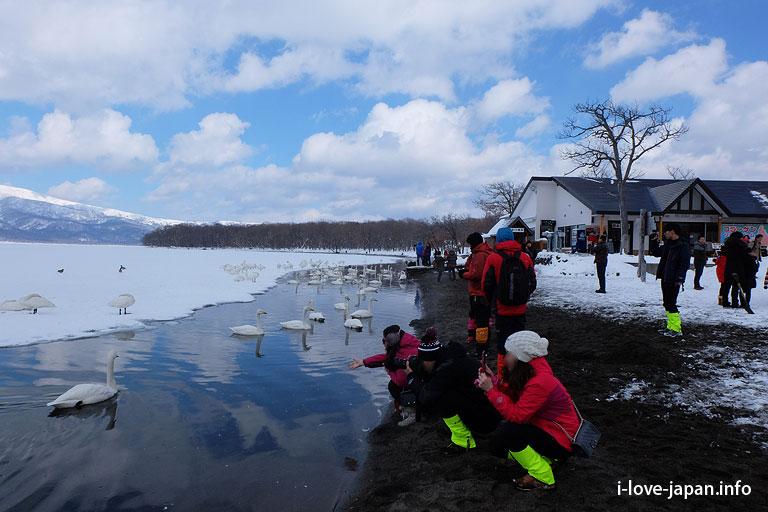 Lake Kussharo in Hokkaido