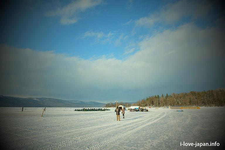 Lake Akan in Hokkaido