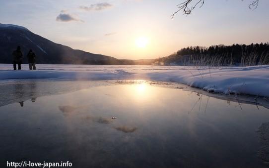 Lake Akan in Winter(Hokkaido)