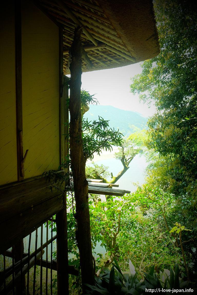 Garyu Sanso (mountain cottage)/Ozu,Ehime