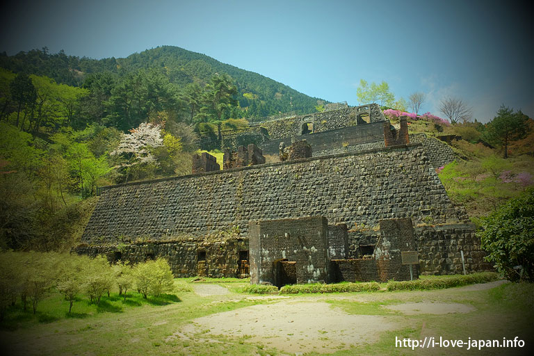 Besshi copper mine site/Machu Picchu of the Orient(Ehime)