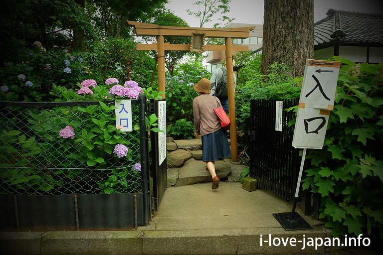 """Fuji-duka"" of Hakusan Shrine"