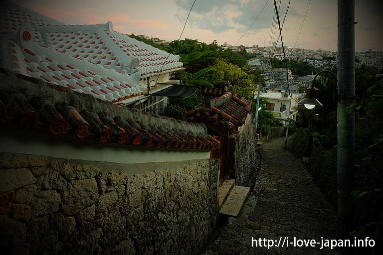 Kinjo-cho Stone-paved Path@naha,okinawa