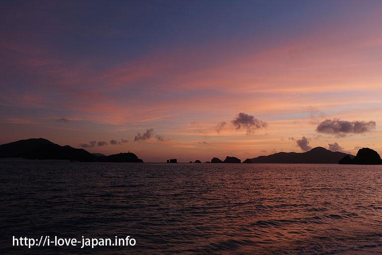 Sunset at Ama beach(Zamami island,Okinawa)