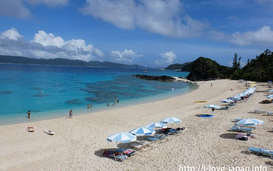Kerama Islands 【3days】model course(okinawa)