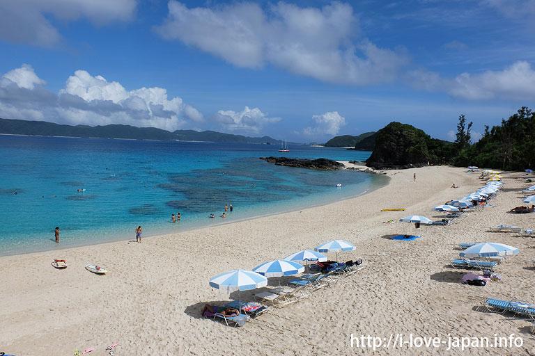 Furuzamami beach(Zamami island,Okinawa)