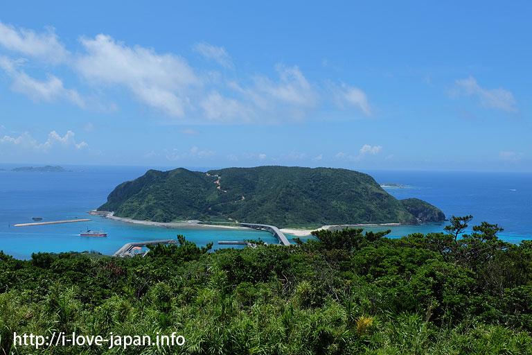 Nakadake or Takibaru observatory(Aka island)