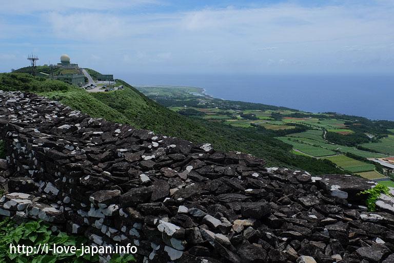 Uegusuku Castle ruins@Kume island(Okinawa)