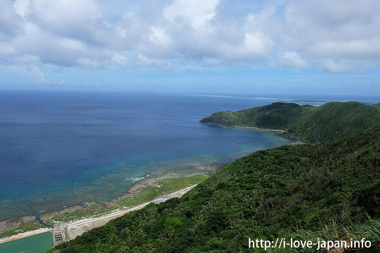 Hiyajo Banda(cliff)@Kuma island (Okinawa)