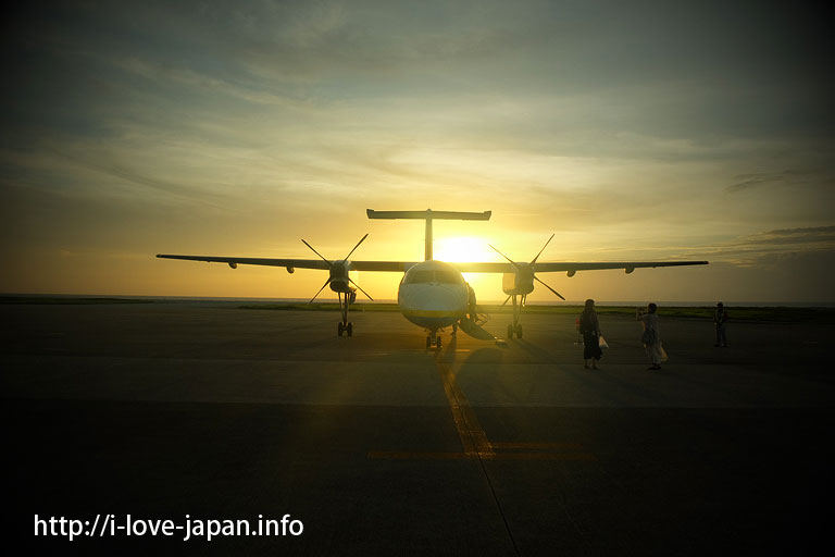 Kume island airport@Not only Hatenohama Beach But Also Kume island Sight Seeing Spots(Okinawa)