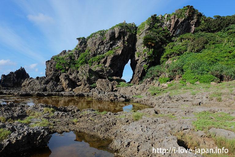 Mifuga Rock@Kume island(Okinawa)