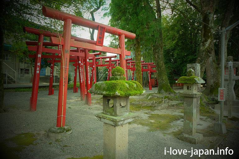 >Oikami Shrine(Hitoyosi,Kumamoto)