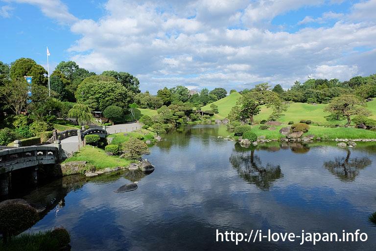 Suizenji Garden(Suizenji Park)@kumamoto