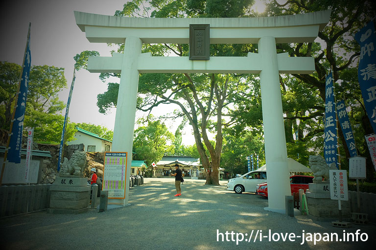 Kato shrine@Kumamoto Castle
