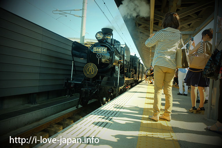 SL Hitoyoshi(Steam Locomotive)@kumamoto station