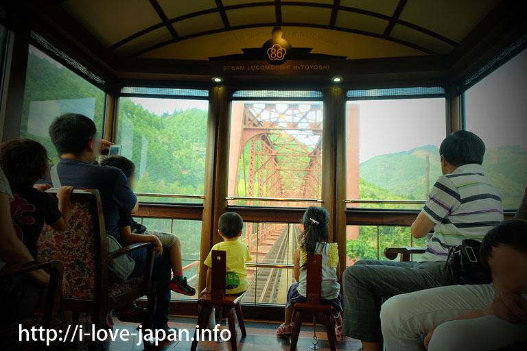 JR Kyushu second Kuma River Bridge