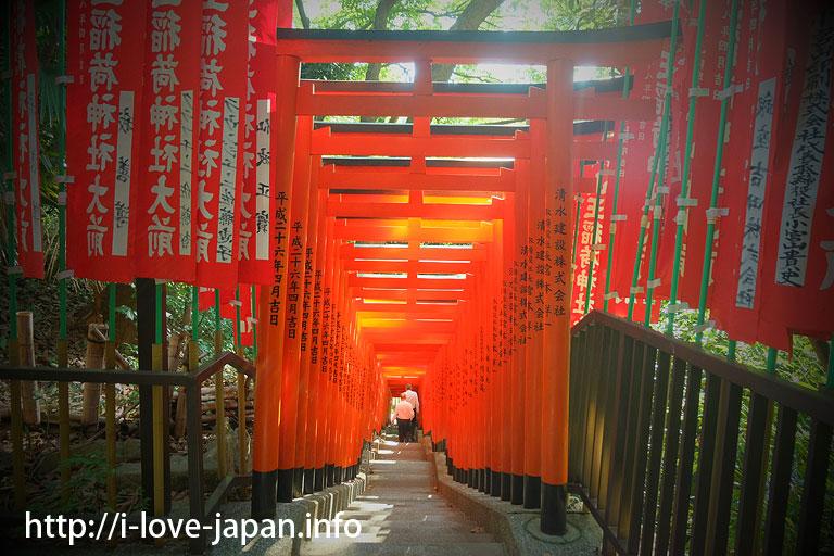 Sannou-Inari-Shrine in Hie-Shrine(Chiyoda-ku)