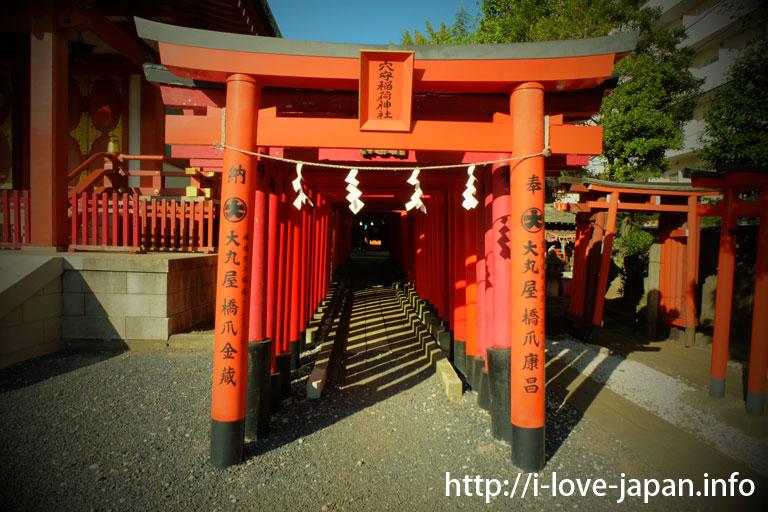 Anamori-Inari-Shrine in Shinagawa-Shrine(Oota-ku)