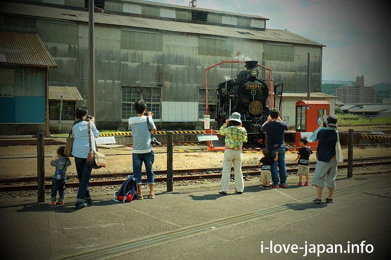 Steam locomotive Change of direction