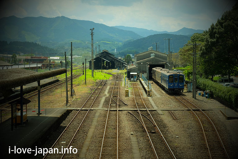 Japan's only stone steam locomotive warehouse! Hitoyoshi steam locomotive warehouse