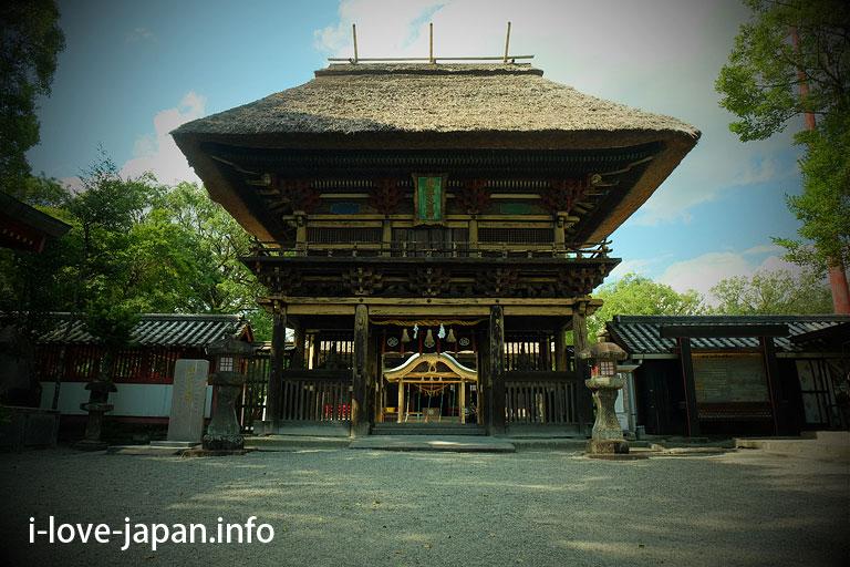 [National treasure] Aoi Aso shrine
