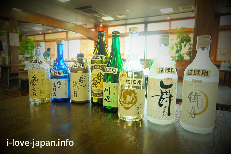 Shochu(Distilled spirits) factory tour/Semgetu-shiromi(see castle)-kura