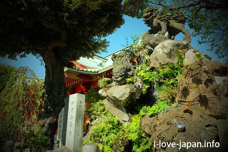 lion mountain@Kanda Myojin Shrine(Chiyoda-ku,Tokyo)