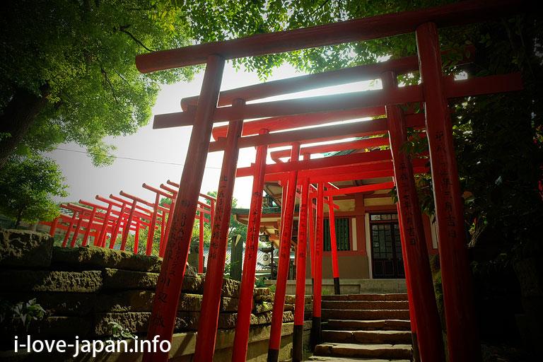 Ana-Inari-Daimyoujin at Shinagawa shrine