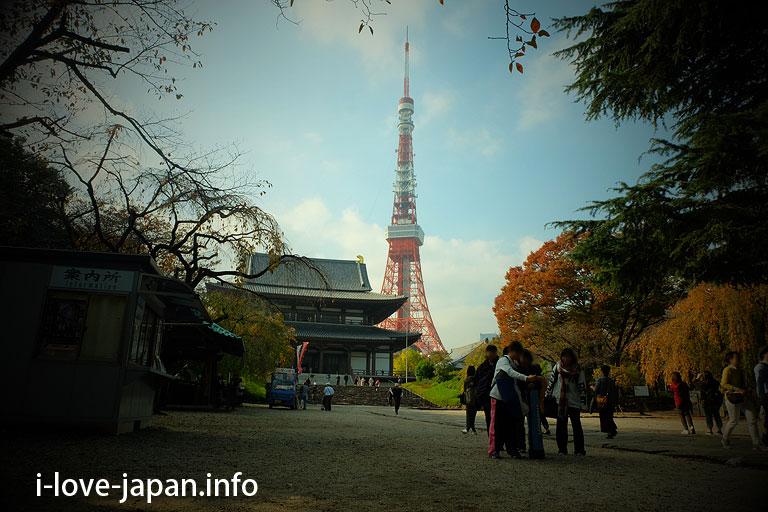 Zojoji Temple(Minato-ku,Tokyo)