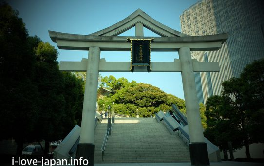 Hie Shrine(Akasaka,Chiyoda-ku,Tokyo)Don't miss Snnou-torii gate,and many red torii gates