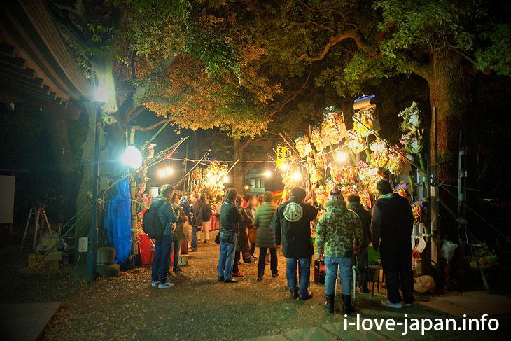 Tori-no-ichi Festival(Market)