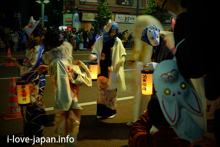 【New Year's Eve】 Fox Parade