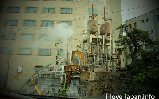 Yu-kemuri(Steam)area@kannawa onsen,beppu