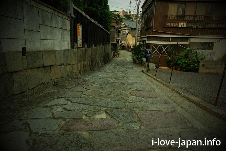 Beppu stone paving@kannawa@oita