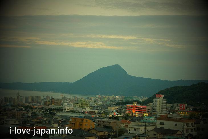 Viewing slope@kannawa,beppu,oita