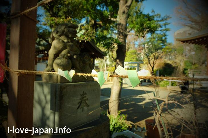 Omikuku of Hatomori-Hachiman jinjya shrine