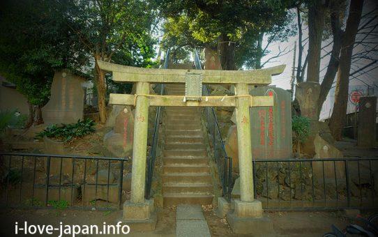 After climbing Jujo Fujiduka at Jujo Fuji Shrine, walking around jujo (Kita-ku, Tokyo)