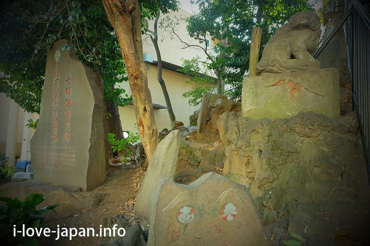 Climbing Jujo Fujiduka at Jujo Fuji Shrine