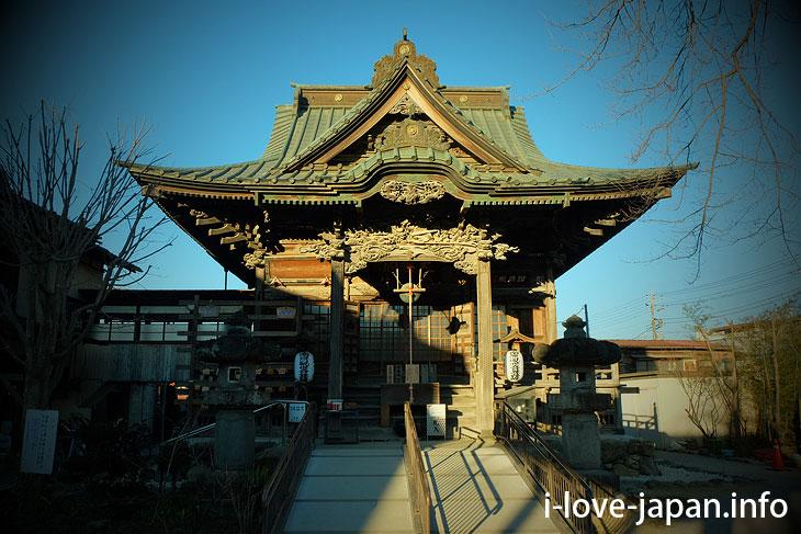 Jigen-ji temple in temple