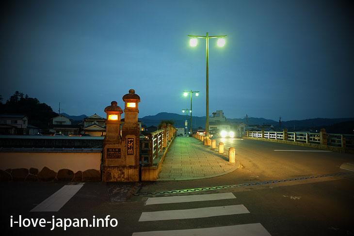 """Wandering around """"Mameda-machi"""" at dusk"""