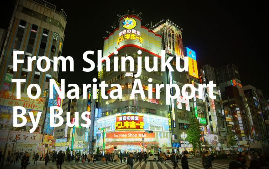 From Shinjuku To Narita Airport By Bus