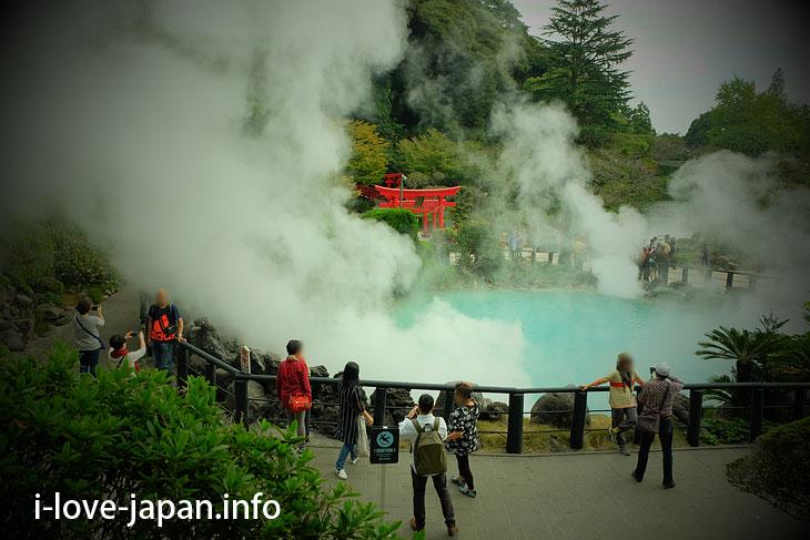 Umi-jigoku(sea hell)@Sightseeing Near Beppu(Oita)