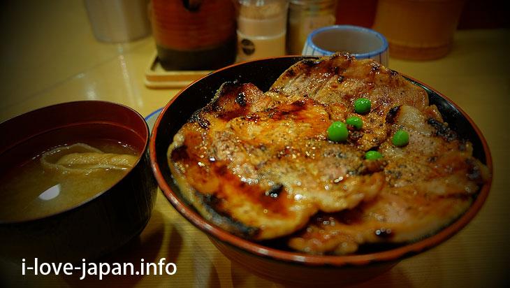 "Obihiro's specialty ""Pork Bowl(Buta-don)""Hokkaido"