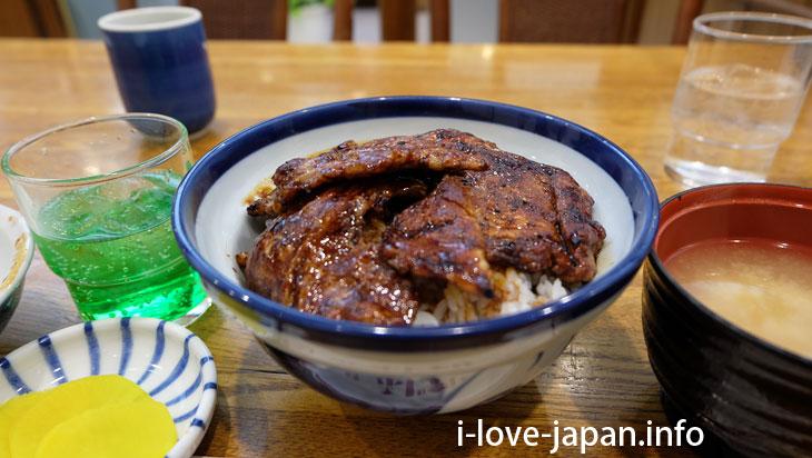 The second most delicious in Obihiro!?Pork Bowl of Fujimori