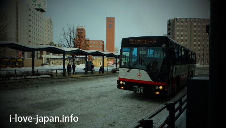 Obihiro Station Bus Terminal(hokkaido)