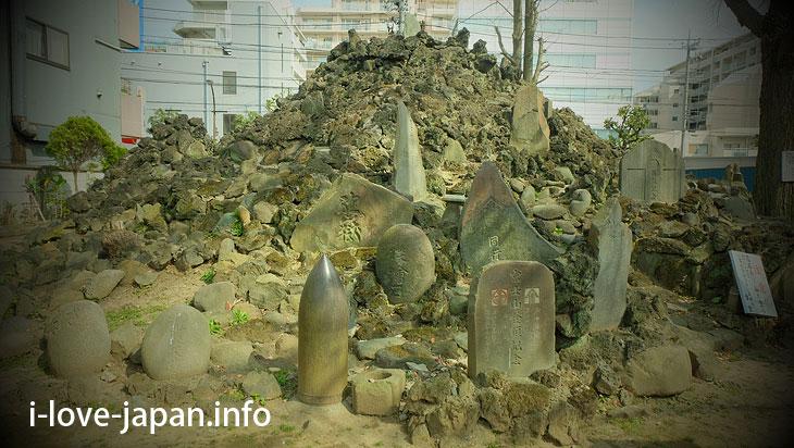 "Fuji-duka of Sunamachi (Koto-ku, Tokyo) Attention to Torii of ""Sunamura Sengen Shrine""!"
