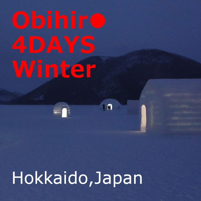 Obihiro [Winter x 3 nights 4 days] Recommended! Model course (Hokkaido)