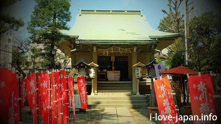 Visit to Kami-Meguro Hikawa Shrine