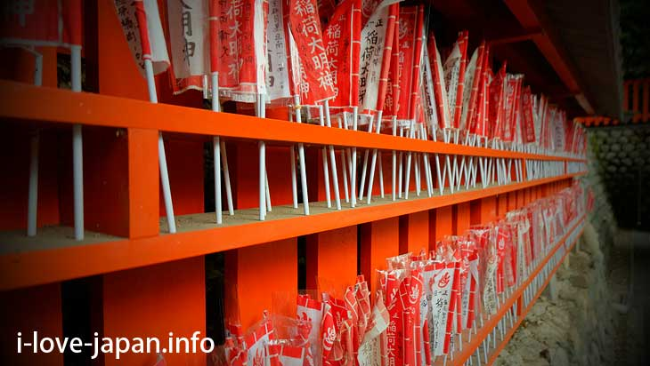 Not only the torii! Items that can be donated@Fushimi Inari Taisha(Shrine)