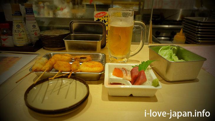 Twice Source prohibited! You must eat Kushikatsu in Shinsekai